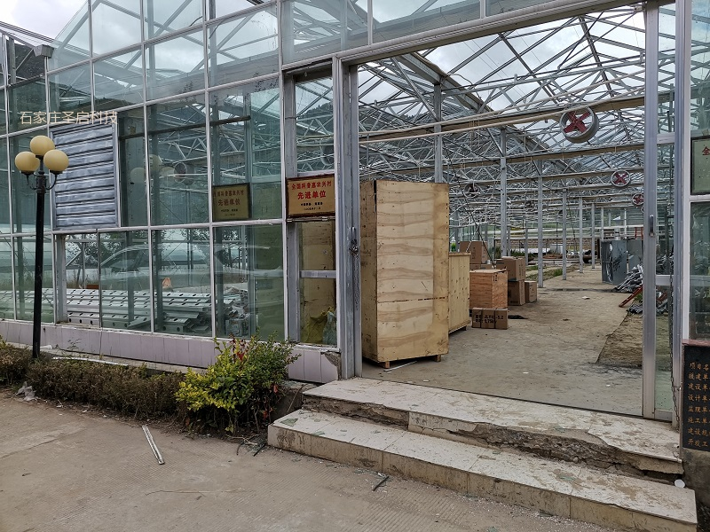 西藏林芝市科技示范园智能温室控制系统,日光温室改造升级
