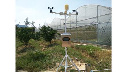 江苏南京—温室大棚环境及室外气象综合测控系统