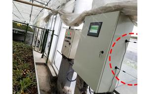 智能温室大棚环境温湿度监测系统